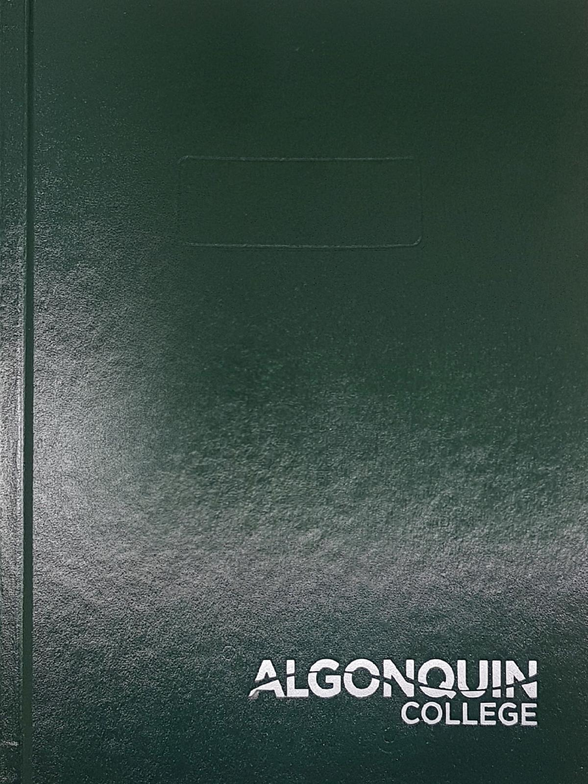Algonquin college writing help