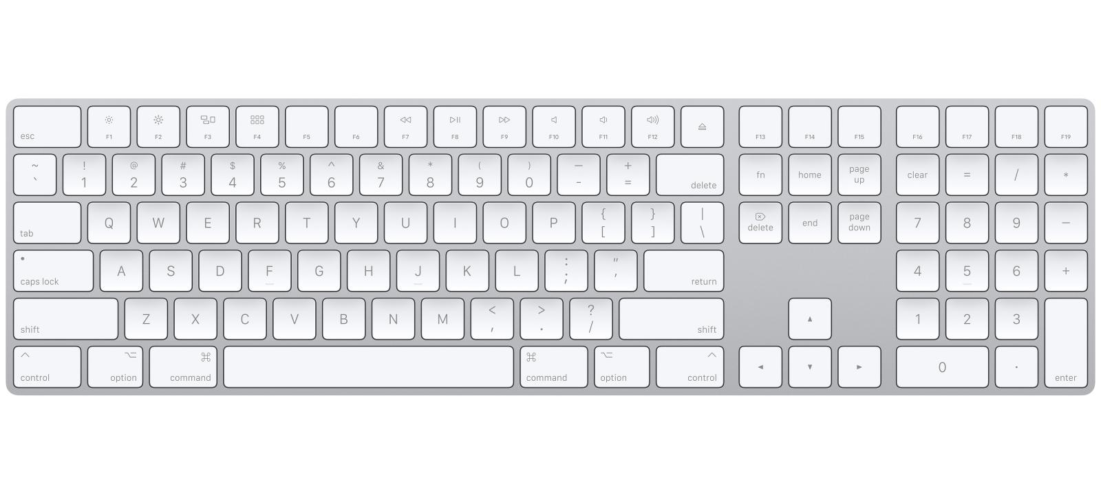 APPLE MAGIC KEYBAORD WITH