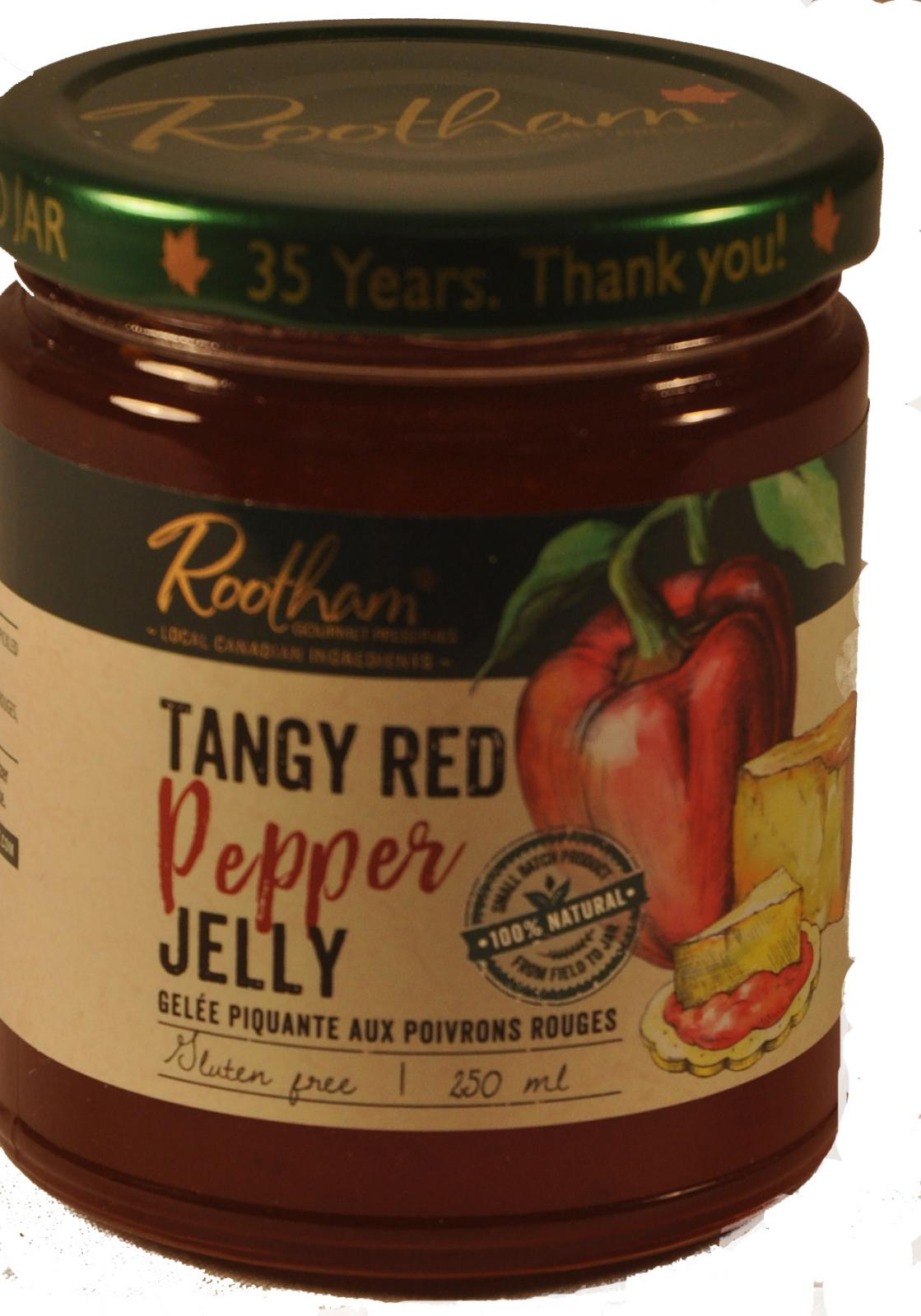 TANGY RED PEPPER JELLY