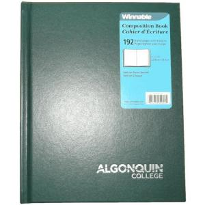 065479090044 Composition Book - Green