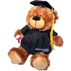 "069202420016 Grad Bobby Bear 12"" Plush"