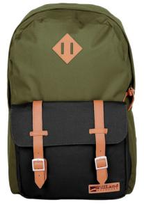 616641608224 Backpack: Romantica - Green/Black