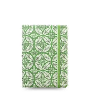 757286602281 Notebook: Filofax Impressions, Pocket - Green & White