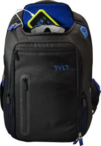 781420043494 Backpack: Tylt Energi, 10k Battery Pack Incl. - Black/Blue