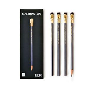 820933110252 Pencil: Blackwing 602 - 12 Pack - Firm Graphite