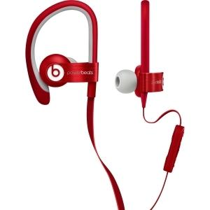 848447003860 Headphones: Powerbeats 2 Sports In-Ear - Red