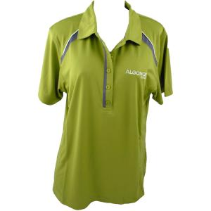 88880082201 Womens ACcolade Citron Golf Shirt Medium