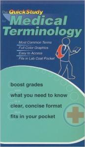 9781423202608 Medical Terminology Barcharts Book