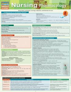 9781423216551 Nursing Pharmacology (Chart)