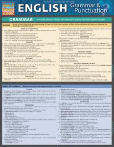 9781423218654 English Grammar &  Punctuation (Chart)
