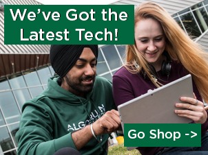 We've Got the Latest Tech! Go Shop ->