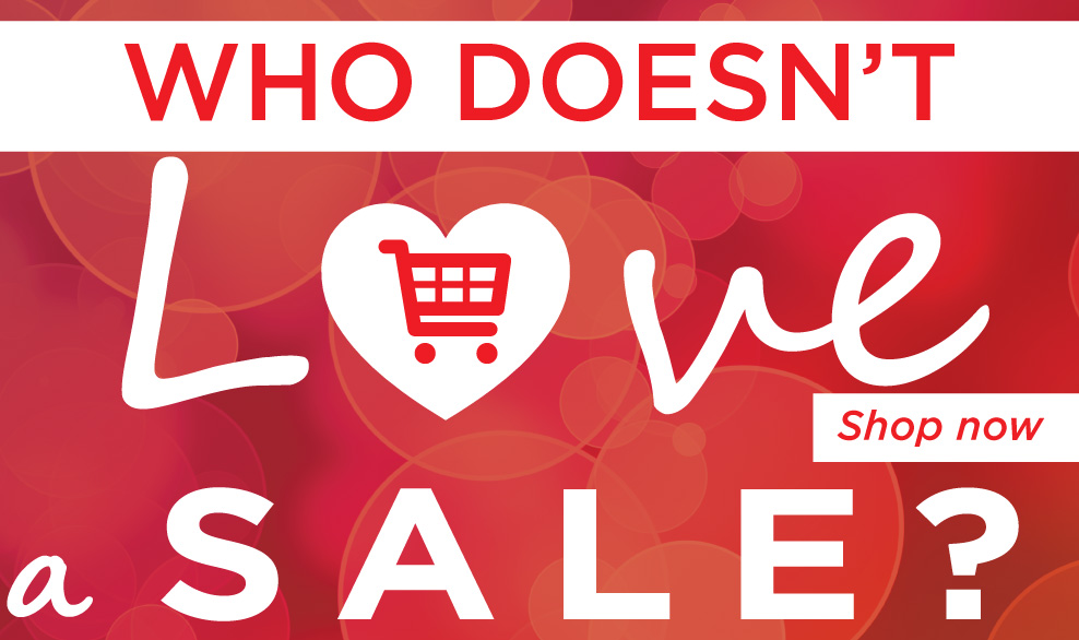 Who doesn`t love a sale? Shop now.