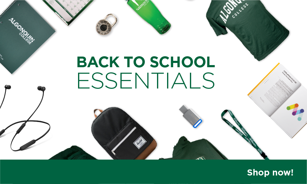 Back to School Essentials. Shop Now