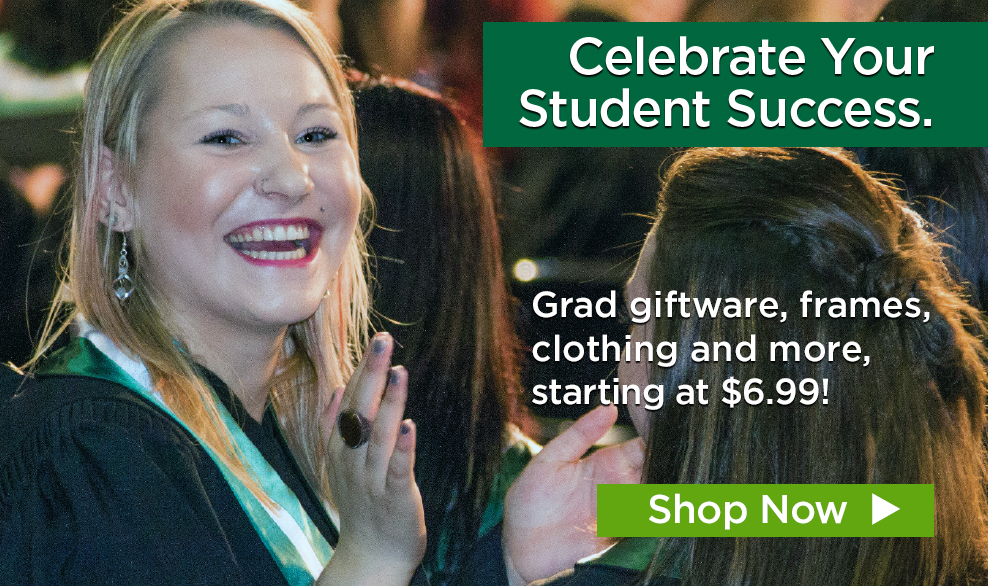 Celebrate your student success. Grad giftware, frames, clothing and more, starting at $6.99. Shop now.