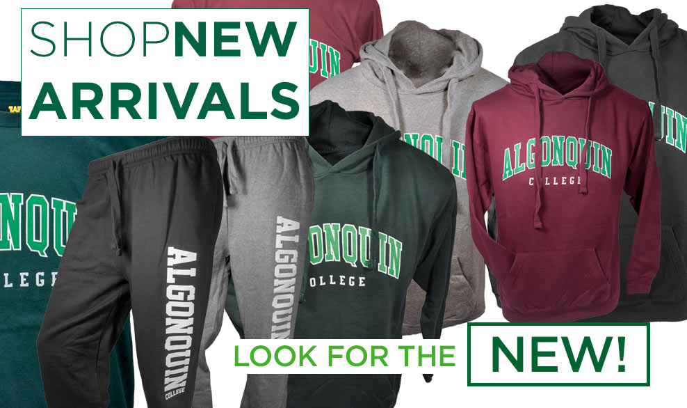 Shop new arrivals. Look for the NEW!