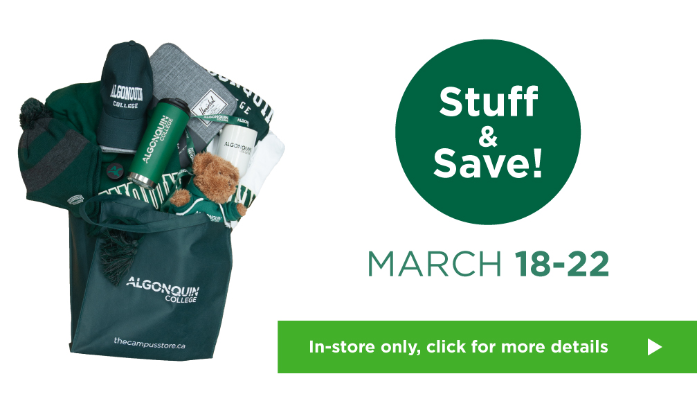 Stuff & Save! March 18 - 22. In-store only. See Details ->