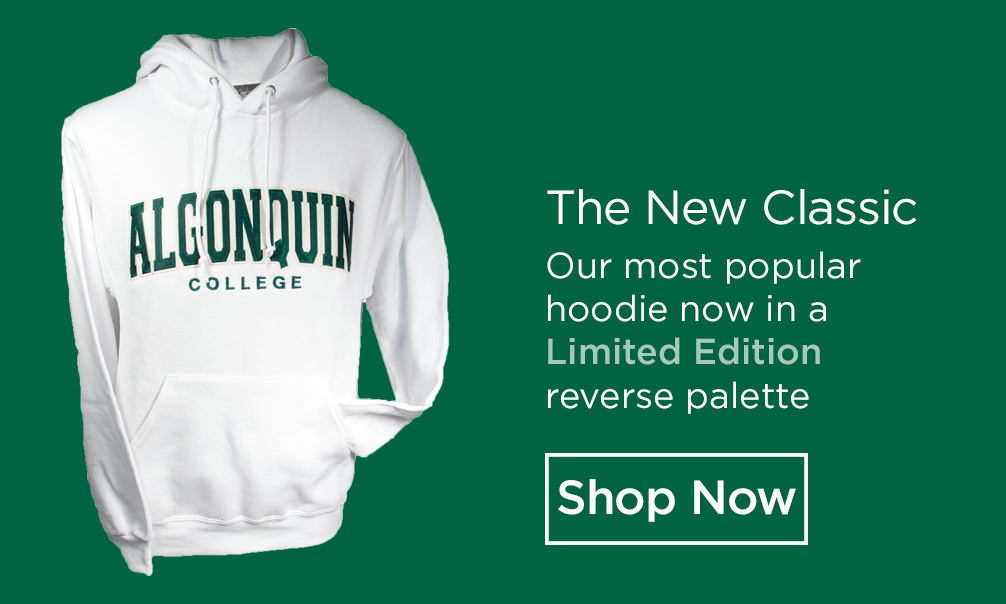 The New Classic. Our most popular hoodie now in a Limited Edition reverse palette. Shop Now