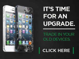 Trade in Your Old Devices. (phone with smashed screen)